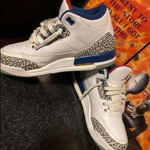 "Air Jordan 3 Retro OG BG ""TRUE BLUE"" 2016"